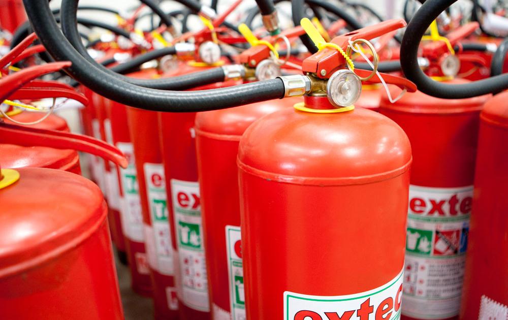 Revisão e Recarga de Extintores